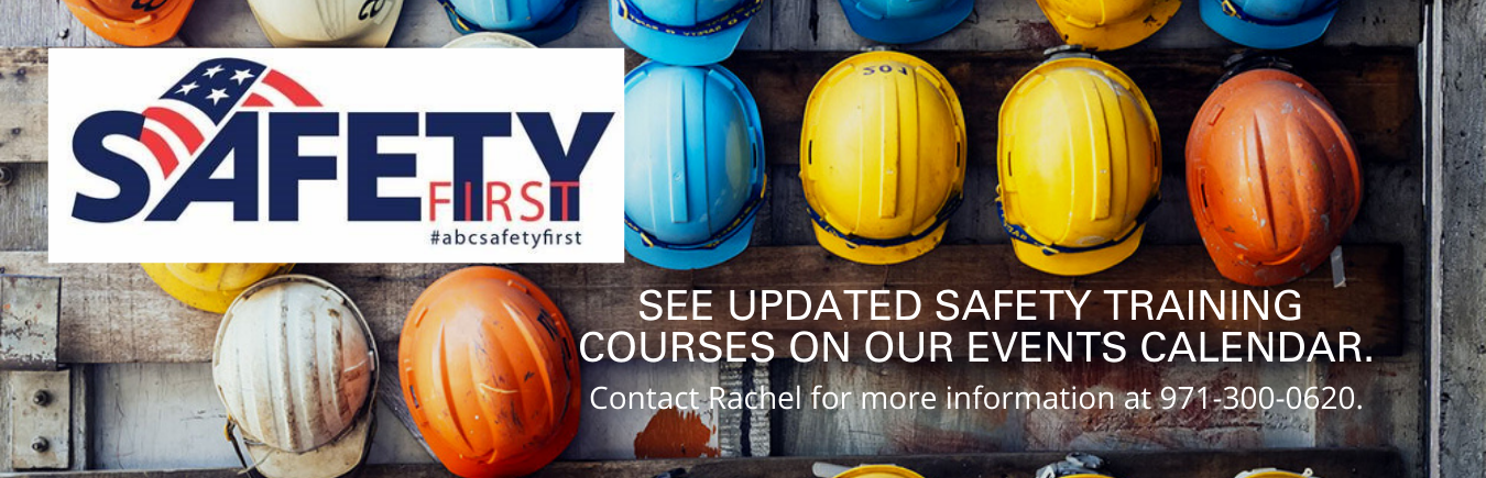 Safety First Web banner